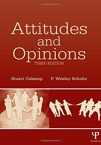 9780805847697: Attitudes and Opinions