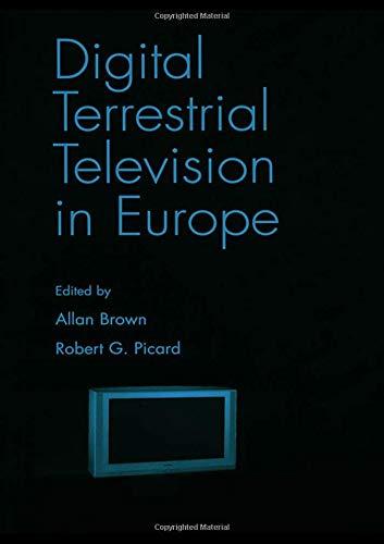 9780805847703: Digital Terrestrial Television in Europe