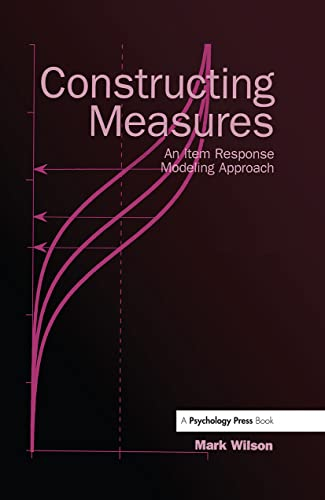 9780805847857: Constructing Measures: An Item Response Modeling Approach with CDROM