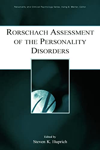 9780805847864: Rorschach Assessment of the Personality Disorders (Personality and Clinical Psychology)