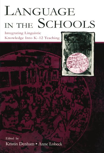 Language In The Schools: Lobeck, Anne (edt);