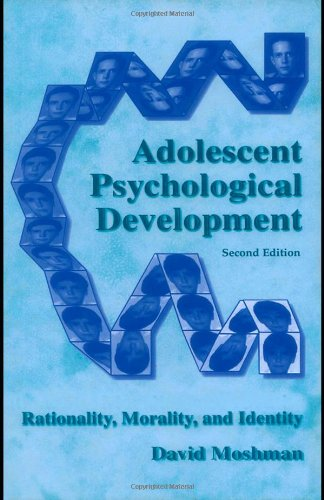 9780805848304: Adolescent Psychological Development: Rationality, Morality, and Identity