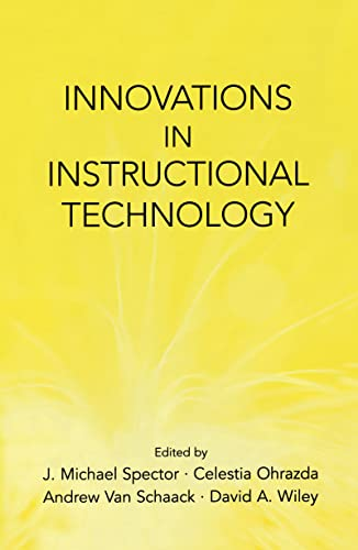 9780805848366: Innovations in Instructional Technology: Essays in Honor of M. David Merrill