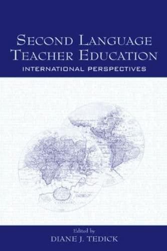 9780805848793: Second Language Teacher Education: International Perspectives