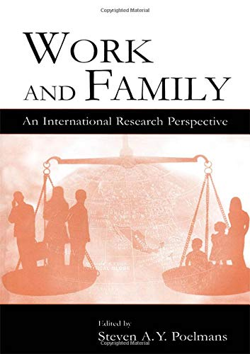 9780805848816: Work and Family: An International Research Perspective (Applied Psychology Series)
