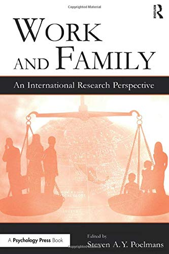 9780805848823: Work and Family: An International Research Perspective (Series in Applied Psychology)
