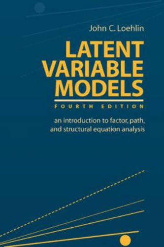 9780805849097: Latent Variable Models: An Introduction to Factor, Path, and Structural Equation Analysis