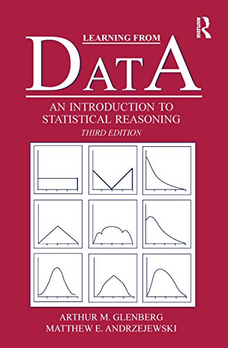 Learning From Data: An Introduction To Statistical