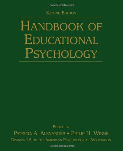 9780805849370: Handbook of Educational Psychology (Educational Psychology Handbook)
