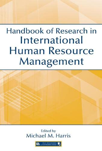 9780805849486: Handbook of Research in International Human Resource Management (Organization and Management Series)