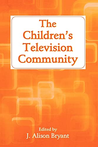 9780805849974: The Children's Television Community (Routledge Communication Series)