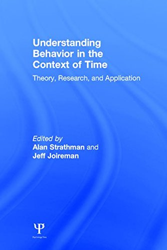 9780805850000: Understanding Behavior in the Context of Time: Theory, Research, and Application