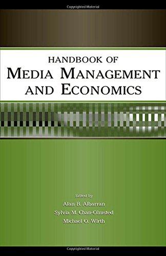 9780805850031: Handbook of Media Management and Economics (Media Management and Economics Series)