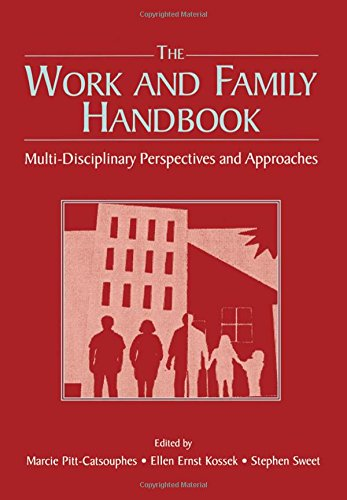 9780805850253: The Work and Family Handbook: Multi-Disciplinary Perspectives and Approaches