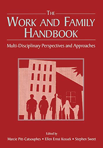9780805850260: The Work and Family Handbook: Multi-Disciplinary Perspectives and Approaches