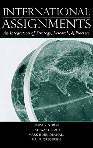 9780805850499: International Assignments: An Integration of Strategy, Research, and Practice