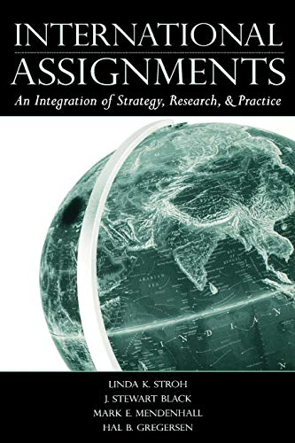 9780805850505: International Assignments: An Integration of Strategy, Research, and Practice