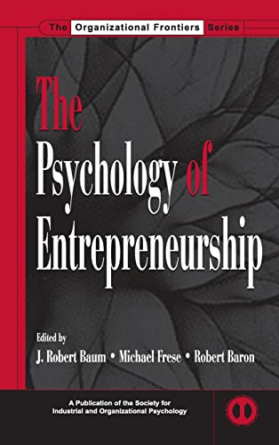 9780805850628: The Psychology of Entrepreneurship (SIOP Organizational Frontiers Series)