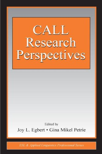 9780805851373: CALL Research Perspectives (ESL & Applied Linguistics Professional Series)
