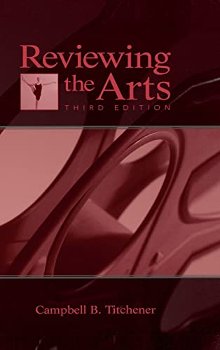 9780805851731: Reviewing the Arts (Lea's Communication Series)