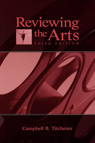 9780805851748: Reviewing the Arts (Lea's Communication (Paperback))