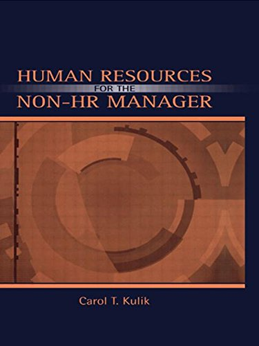 9780805852097: Human Resources for the Non-HR Manager