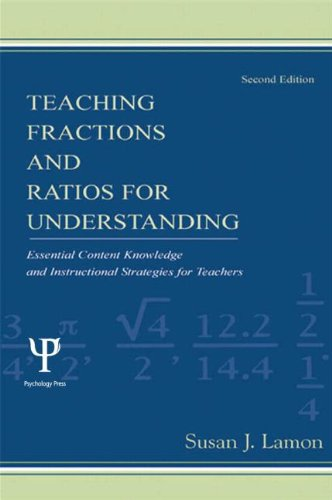 Teaching Fractions and Ratios for Understanding: Lamon, Susan J.