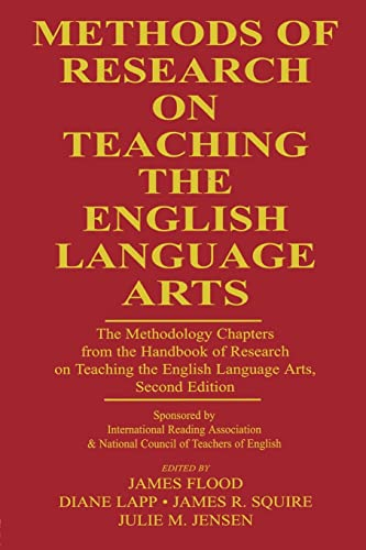 9780805852585: Methods of Research on Teaching the English Language Arts