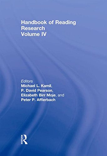 9780805853421: Handbook of Reading Research, Volume IV