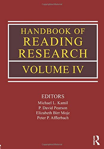 9780805853438: Handbook of Reading Research, Volume IV