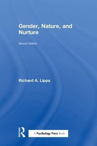 9780805853445: Gender, Nature, and Nurture