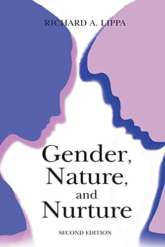 9780805853452: Gender, Nature, and Nurture