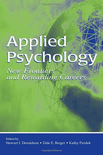 9780805853490: Applied Psychology: New Frontiers and Rewarding Careers
