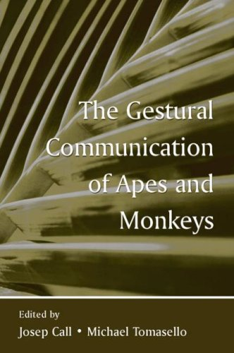 9780805853650: The Gestural Communication of Apes and Monkeys