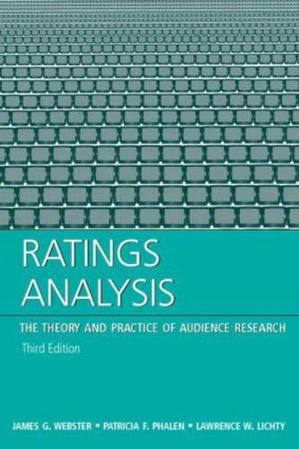 9780805854107: Ratings Analysis: Theory and Practice