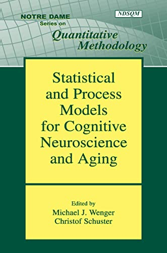 9780805854138: Statistical and Process Models for Cognitive Neuroscience and Aging (Notre Dame Series on Quantitative Methodology)