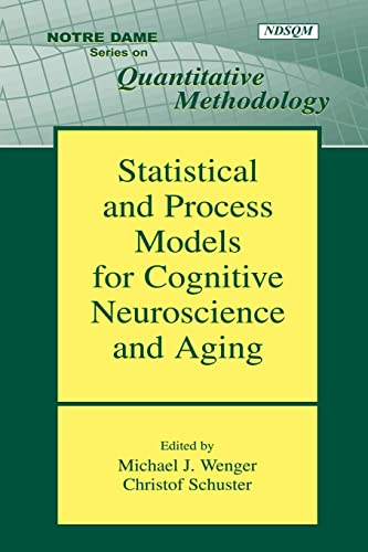 9780805854145: Statistical and Process Models for Cognitive Neuroscience and Aging (Notre Dame Series on Quantitative Methodology)