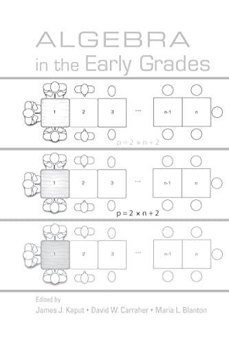 9780805854725: Algebra in the Early Grades (Studies in Mathematical Thinking and Learning Series)