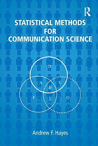 9780805854879: Statistical Methods For Communication Science