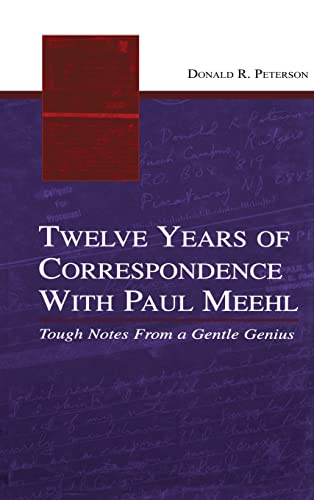 9780805854893: Twelve Years of Correspondence With Paul Meehl: Tough Notes From a Gentle Genius