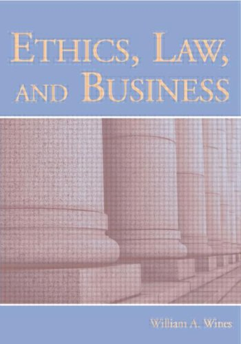 9780805854954: Ethics, Law, and Business