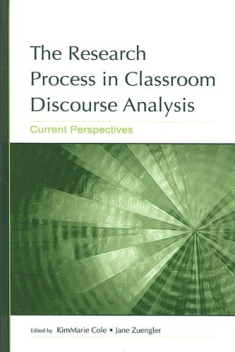 9780805855302: The Research Process in Classroom Discourse Analysis: Current Perspectives