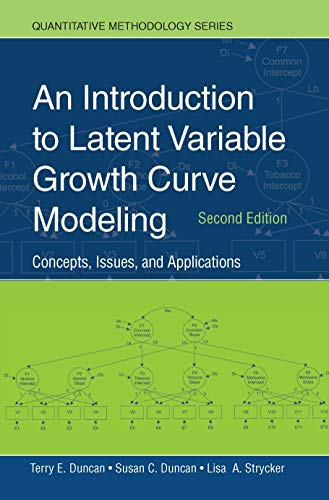 9780805855470: An Introduction to Latent Variable Growth Curve Modeling: Concepts, Issues, and Application, Second Edition (Quantitative Methodology Series)