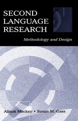 9780805856026: Second Language Research: Methodology and Design