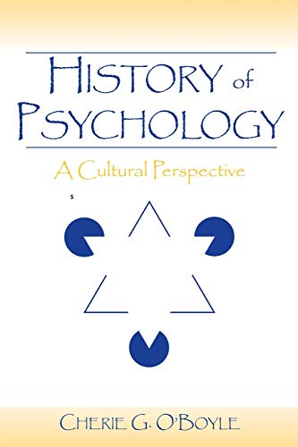 9780805856101: History of Psychology: A Cultural Perspective