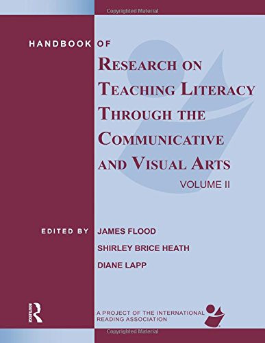 9780805857009: Handbook of Research on Teaching Literacy Through the Communicative and Visual Arts, Volume II: A Project of the International Reading Association: 2
