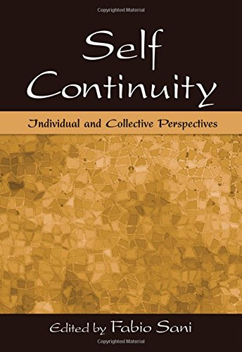 9780805857016: Self Continuity: Individual and Collective Perspectives