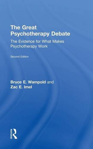 9780805857085: The Great Psychotherapy Debate: The Evidence for What Makes Psychotherapy Work (Counseling and Psychotherapy: Investigating Practice from Sc)