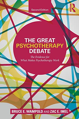 9780805857092: The Great Psychotherapy Debate (Counseling and Psychotherapy)