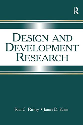 9780805857313: Design and Development Research: Methods, Strategies, and Issues